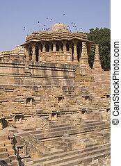 Ancient Hindu Temple at Modhera