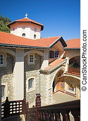 Kikkos Monastery in moutains of troodos, Cyprus