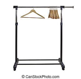 Clothing Rack - Basic moble and adjustable garment clothing...