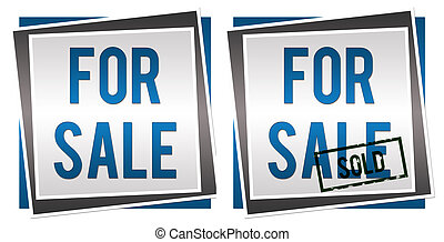 For Sale Sold - Image with For Sale and Sold text with a...