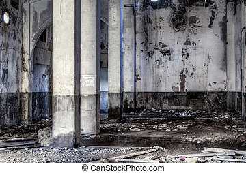 Abandoned building - Urban decay, old gold smelting factory...