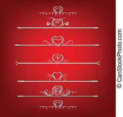 Set Valentine's Day Design Elements