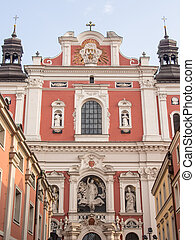 Parish Church of St Stanislaus - Fara Church in Pozna a...