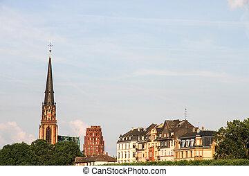Three Kings Church in Frankfurt
