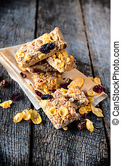Cranberry and corn flakes cookies - Homemade cranberry...