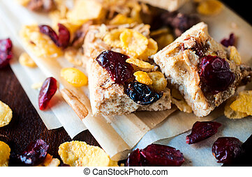 Cranberry cookie - Fresh baked homemade cranberry...