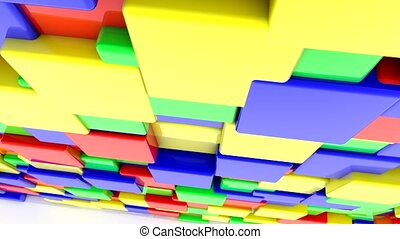 Abstract colored squares - Abstract colored squares