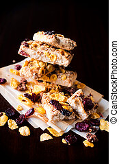 Cranberry cookies - Cranberry and corn flakes...