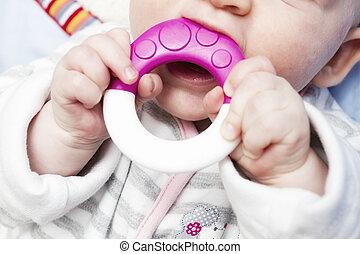 Baby Hands - Baby sucking fingers / Baby Hands Foto