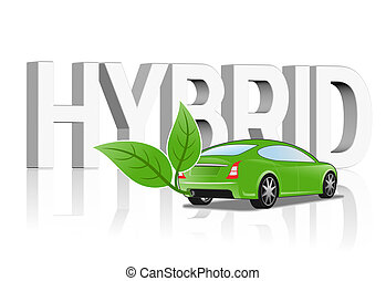 Hybrid vehicle concept - An illustration of Hybrid vehicle...
