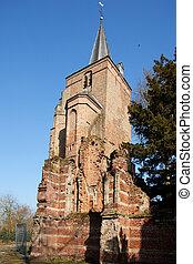 Dutch reformed church in Ammerzoden the Netherlands