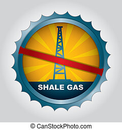 Shale gas label - Label for the exploitation of shale gas...