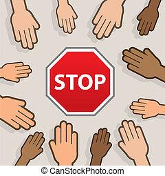 Stop Hands