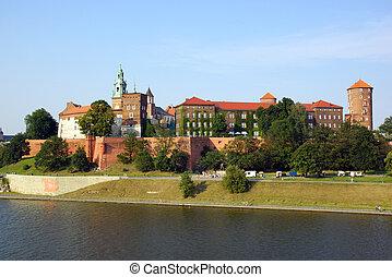 Wawel Castle in Cracow (Krakow)