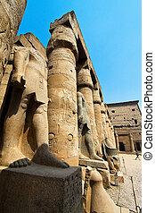 egypt, luxor, amun temple of luxor.