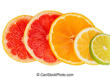 orange slices - slices of an orange symbolic photo for...