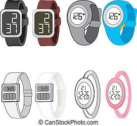 Digital Watch Collection