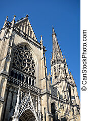 """austria, linz, st. mary's cathedral - the """"new cathedral""""..."""