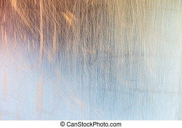 Scratched metal texture - Scratched metal varicolored...