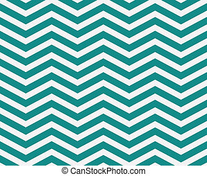 Dark Teal and White Zigzag Textured Fabric Background that...