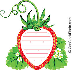Tag Label of Strawberry
