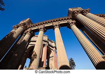 Palace of Fine Arts in San Francisco, California