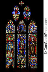 Stained Glass window - The Stained Glass window in the Inner...