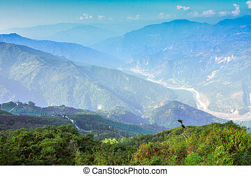 Ramitey view point, Sikkim, India This view point is popular...