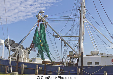 Commercial Fishing Trawler - A commercial fishing trawler...