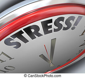 Stress Clock Time Deadline Countdown Alarm Reminder - Stress...