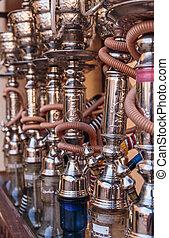 shisha, narguile, tubos