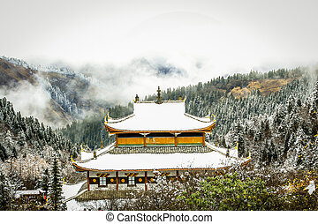 Temple at north China