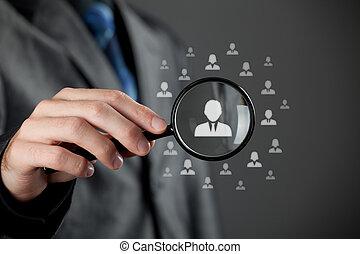 humano, recursos, CRM