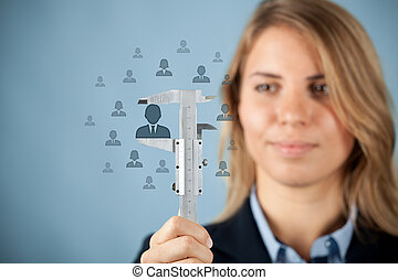Employee merit success growth - Human resources officer...