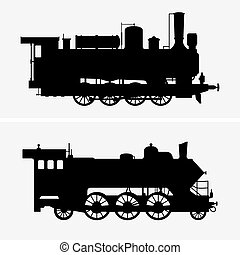 Steam locomotives - Two Steam locomotives