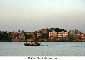 Hooghly River - Kolkata, India - Hooghly River - Calcutta...
