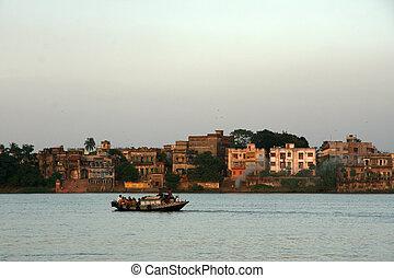 Hooghly River - Kolkata, India - Hooghly River - Calcutta...