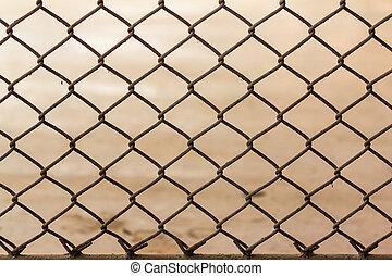Old Steel mesh