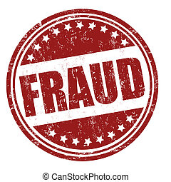 Fraud stamp - Fraud grunge rubber stamp on white, vector...