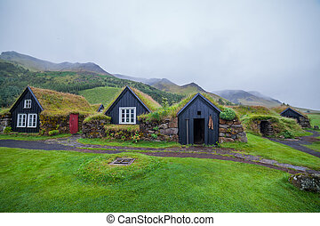 traditional icelandic house - Traditional Icelandic House...