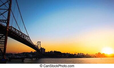 Bridge in Florianopolis, Brazil