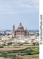 Santa Cilja Church in Gozo, Malta - Santa Cilja Church on...