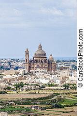 święty, Cilja, kościół, Gozo, malta