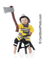 Little Hatchet Fireman