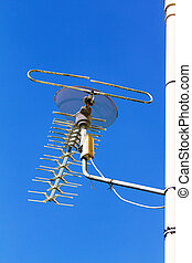 television antenna - Older television antenna installed...