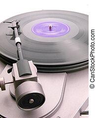 Phonographe, enregistrement