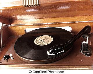 enregistrement, Phonographe