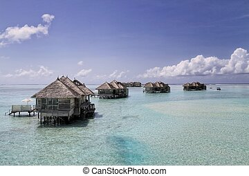 Water Villas at Gili Lankanfushi - Crusoe Villas at Gili...