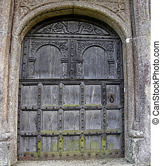 Medieval Door - Or at least a 19th century reproduction of...