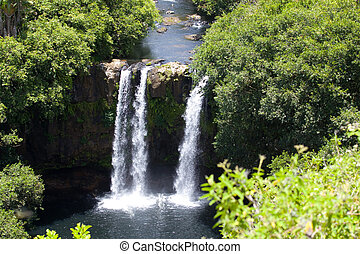 Waterfall in Mauritius